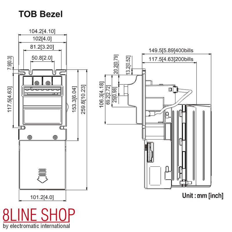 8Line Shop | ICT Bill Acceptor XBA